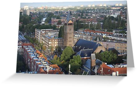 View from the Hotel Okura in Amsterdam by renprovo