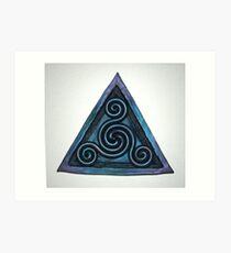 Continuity - Triad Art Print