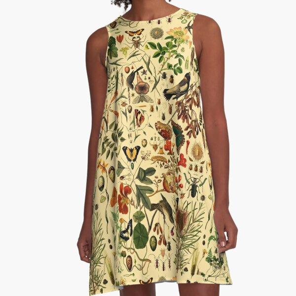 Biologie 101 WARM A-Linien Kleid