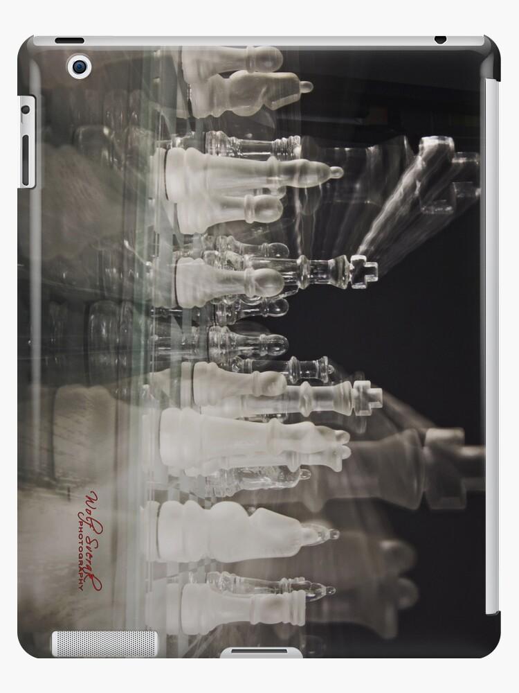 Chess iPad case by Wolf Sverak