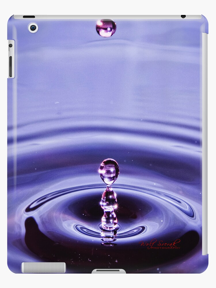 Phychedelic Water Drop for your iPad by Wolf Sverak