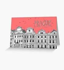 Prague. Greeting Card