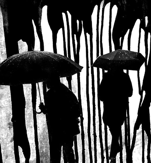 dark rain by Loui  Jover