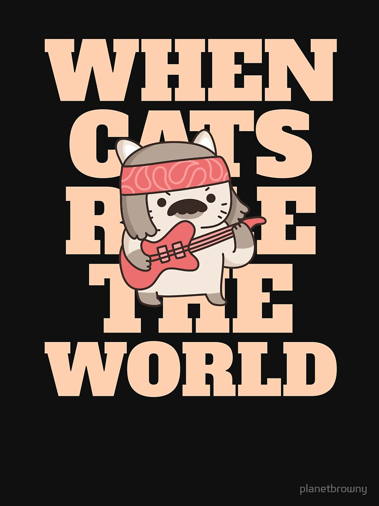 When cats rule the World von planetbrowny