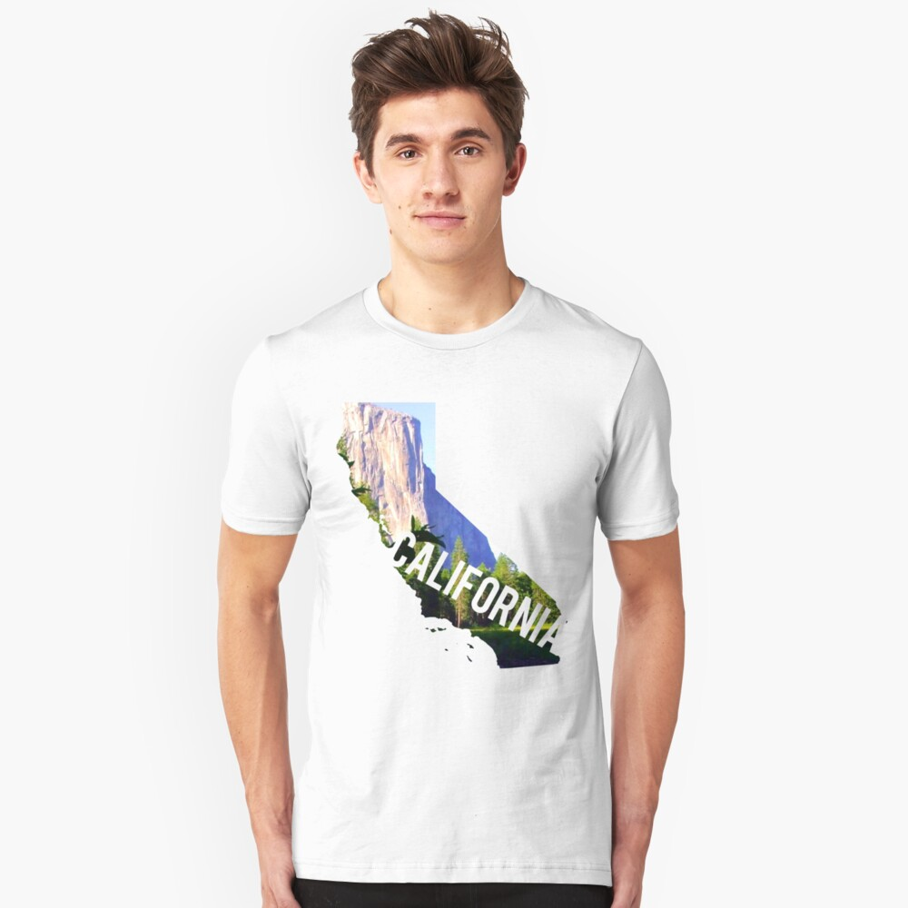 California Yosemite Slim Fit T-Shirt