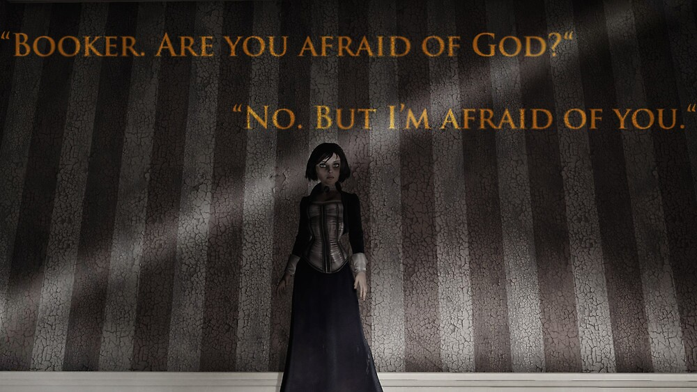 Are you afraid of god? by Mike Martinez