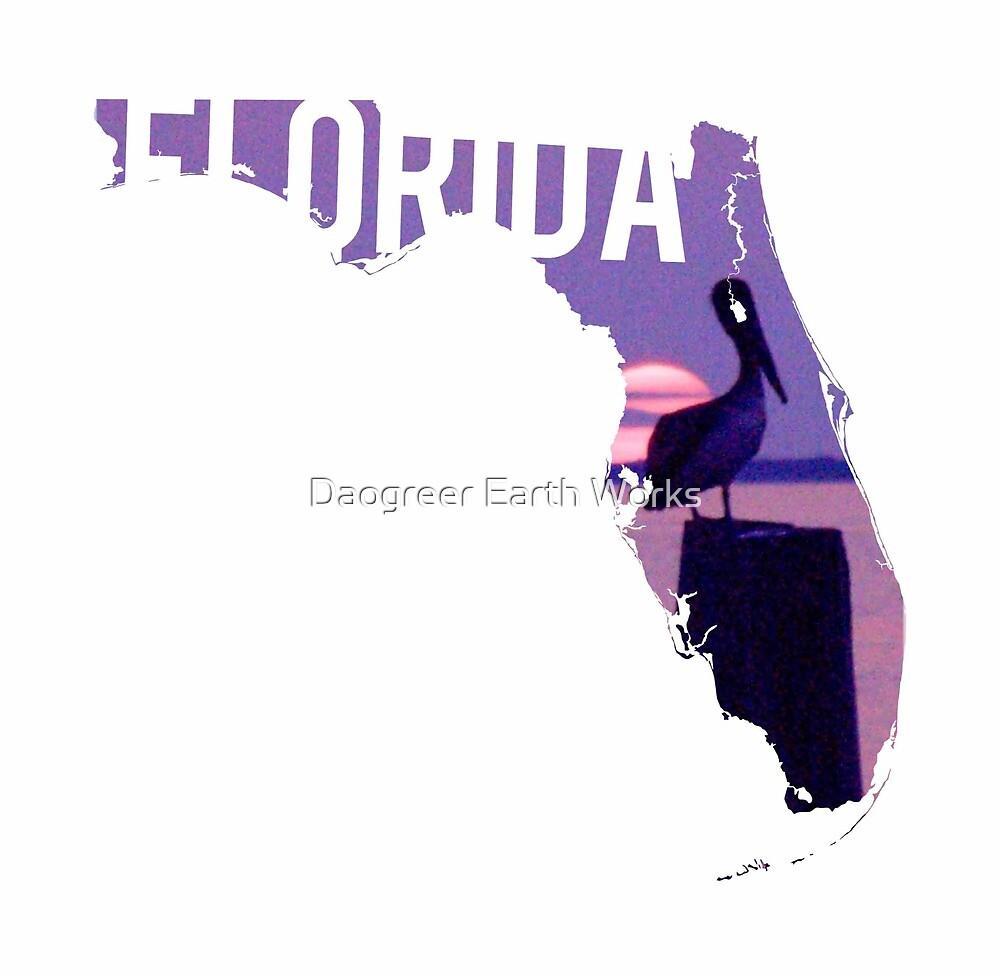 Florida Pelican by Daogreer Earth Works