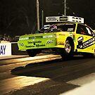 Drag Racing Benaraby by Paul  Donaldson