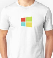 Windows 8 Modern Colour Logo (Larger) T-Shirt