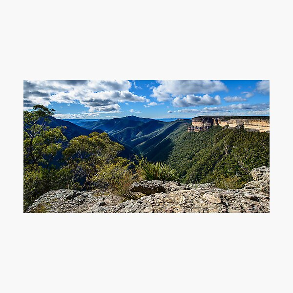 Spectacular Kanangra Walls Photographic Print