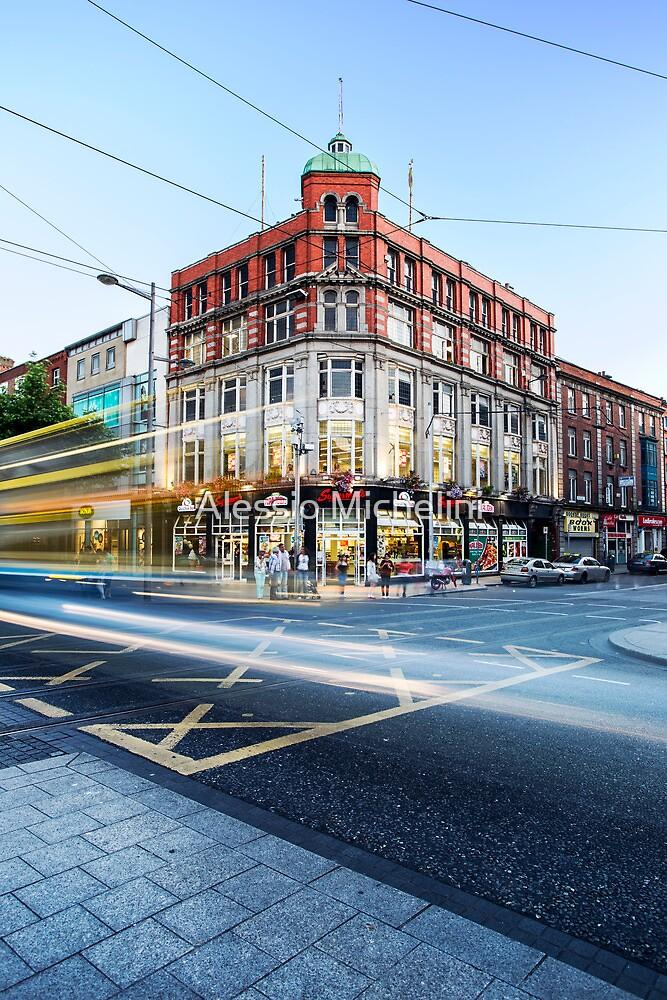 O'Connell Street, Dublin by Alessio Michelini