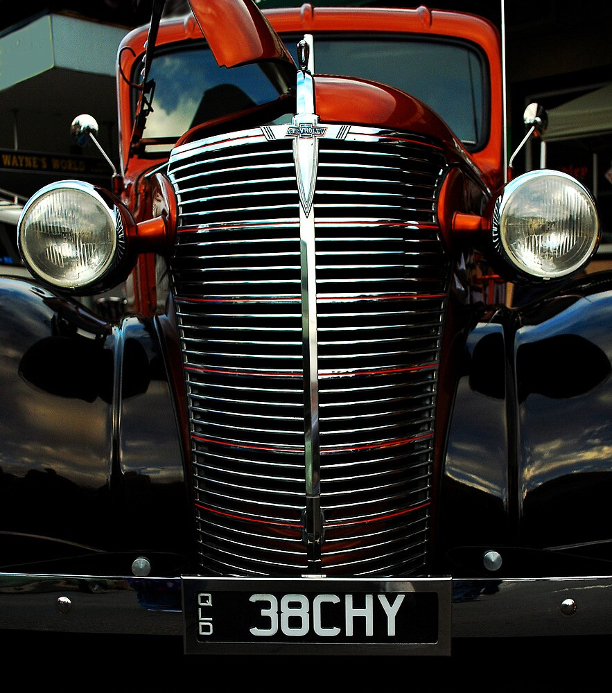 Old Skool 38 Chevy truck by Mark Malinowski