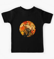 Orange Rose Moon Kids Tee