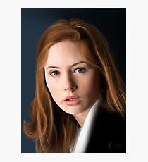 Amy Pond Photographic Print