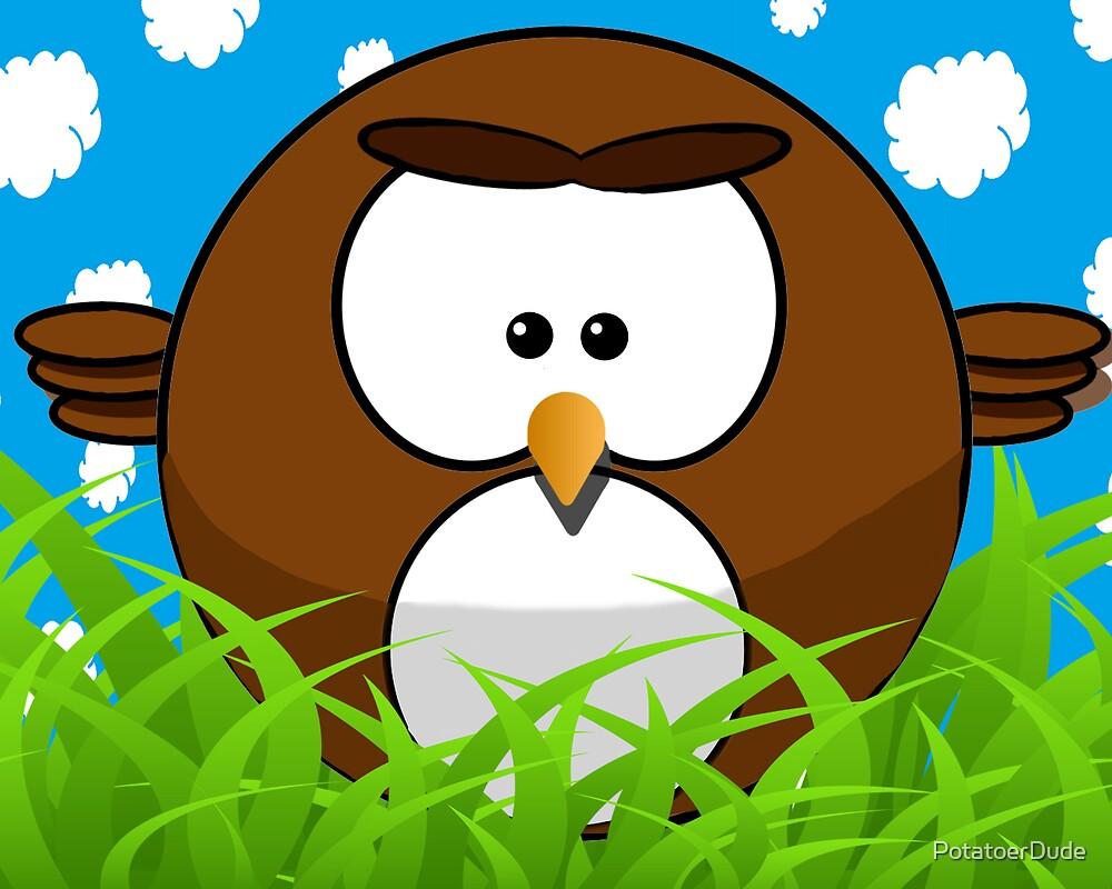 Cute bird by PotatoerDude