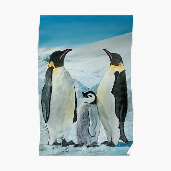 The Penguin Family  Poster
