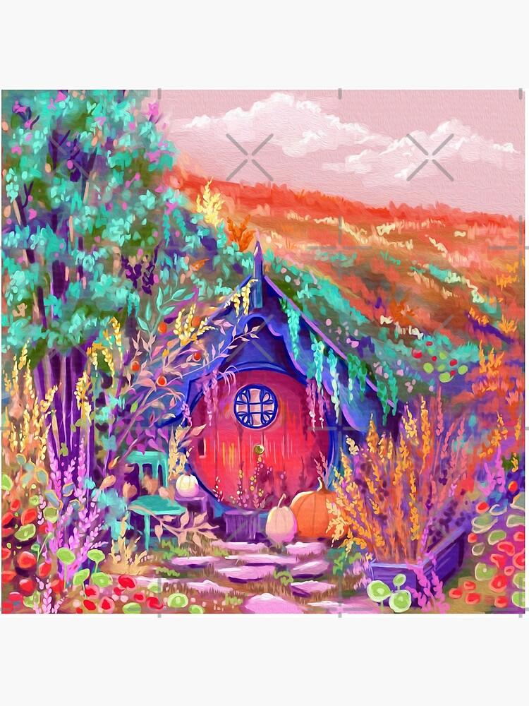 Hobbiton Shire in the Fall by artbysavi