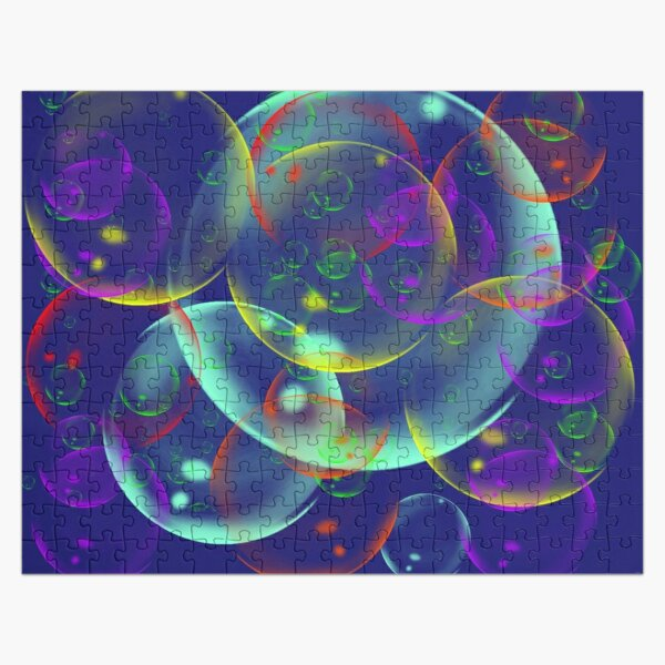 I wandered freely as a Bubble Jigsaw Puzzle