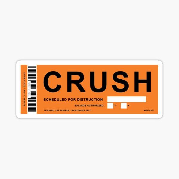 Chappie Crush Label Sticker