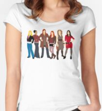 The Companions  Women's Fitted Scoop T-Shirt