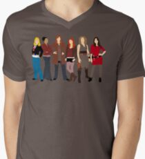 The Companions  Mens V-Neck T-Shirt