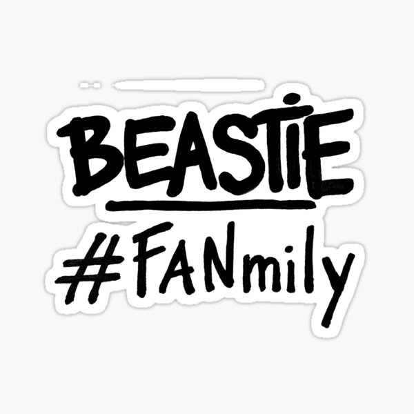 BEASTIE #FANmily Sticker