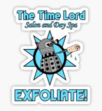The Time Lord Salon and Day Spa Sticker