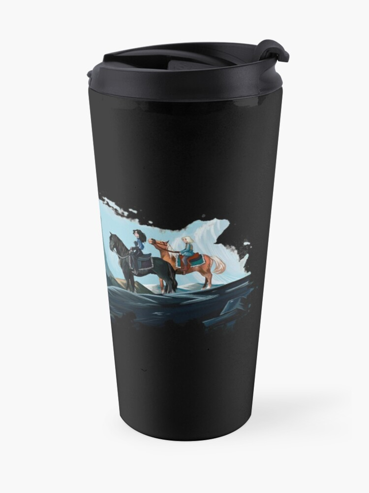 Alternate view of A Long Journey Travel Mug