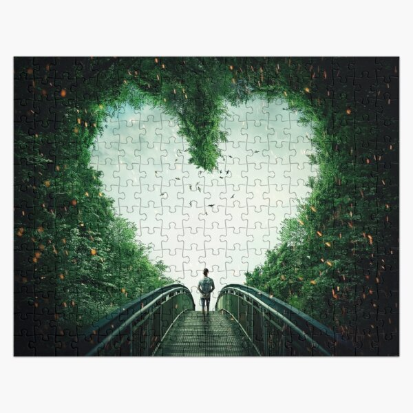follow your heart Jigsaw Puzzle