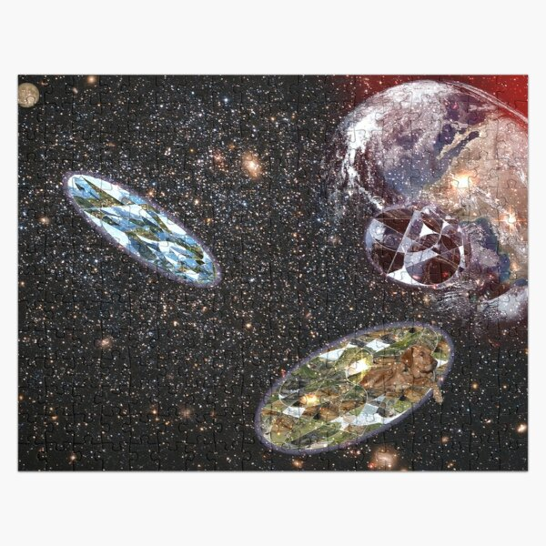 Escape From Earth Jigsaw Puzzle