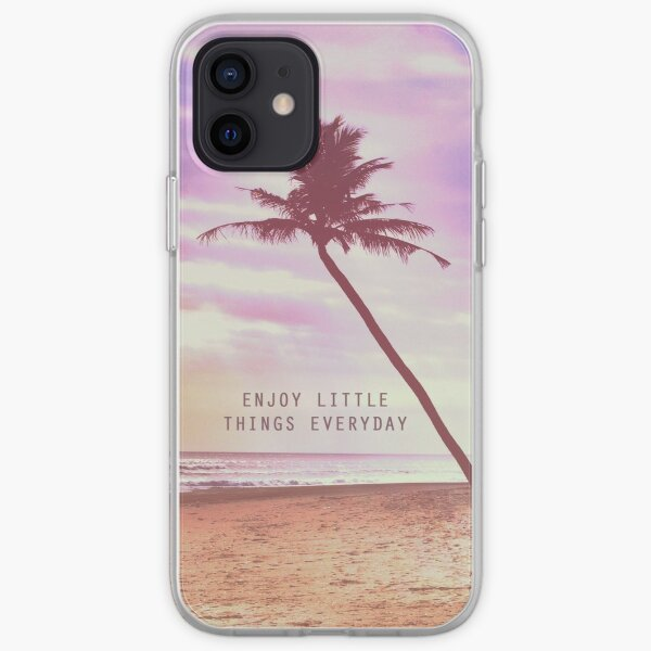 Enjoy little things iPhone Soft Case