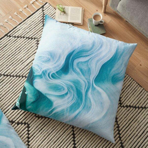 Marble sandstone - oceanic Floor Pillow