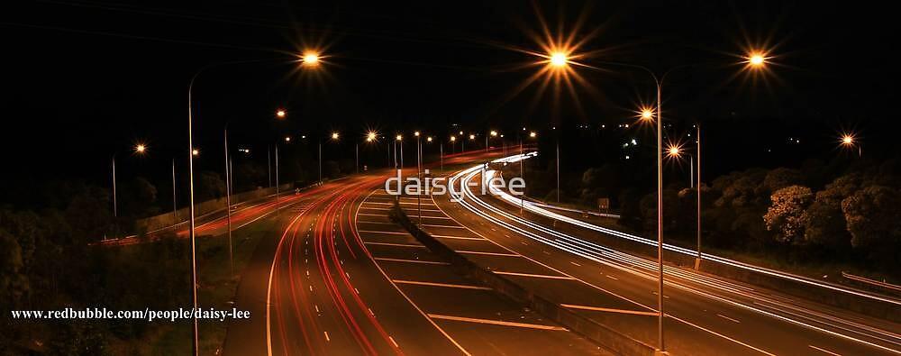 Night lights Brisbane by daisy-lee