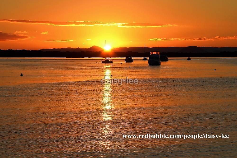 Sunset Bribie Island Queensland 3 by daisy-lee