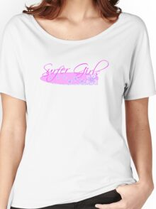 Surfer Girls Hibiscus Women's Relaxed Fit T-Shirt