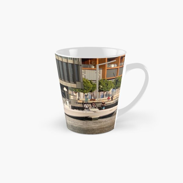 Boats Mooring Tall Mug