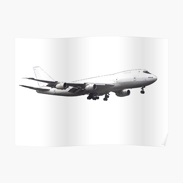 Boeing 747-400 Poster