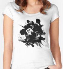 Wut gegen die Maschine Tailliertes Rundhals-Shirt