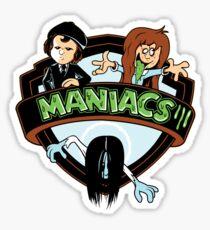 MANIACS III Sticker