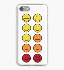 A scale of 1 to 10 - emoticons iPhone Case/Skin