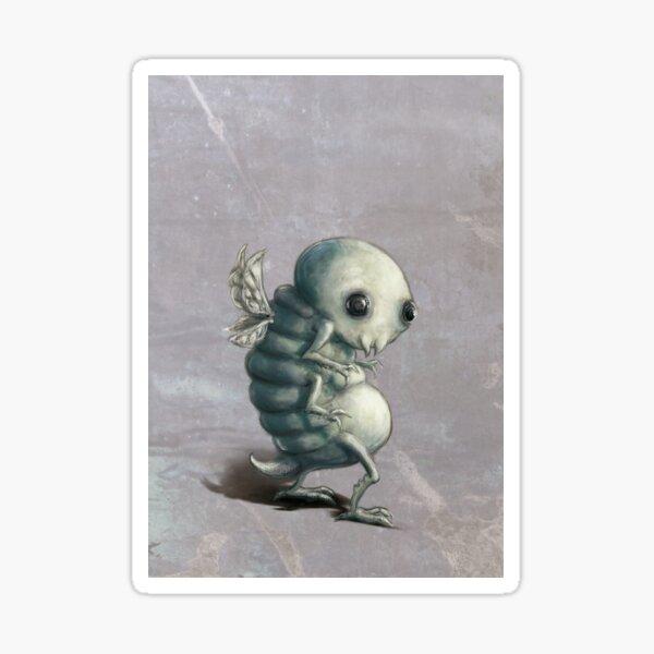 creepy Sticker