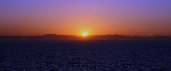 SUN RISE OVER MEXICO MARCH 2009 by photographized