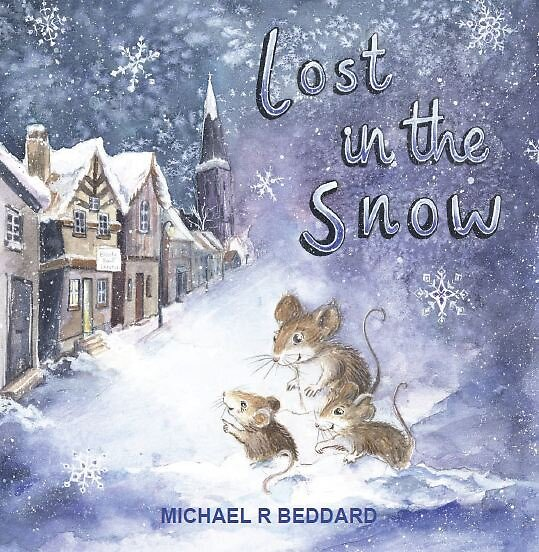 Lost in the Snow Front Cover by TFBB-IN-PRINT