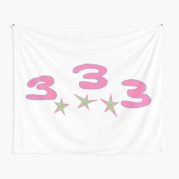 Bladee Drain Gang 333 logo Tapestry