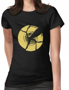 Breaking Bad Broken Plate Womens Fitted T-Shirt