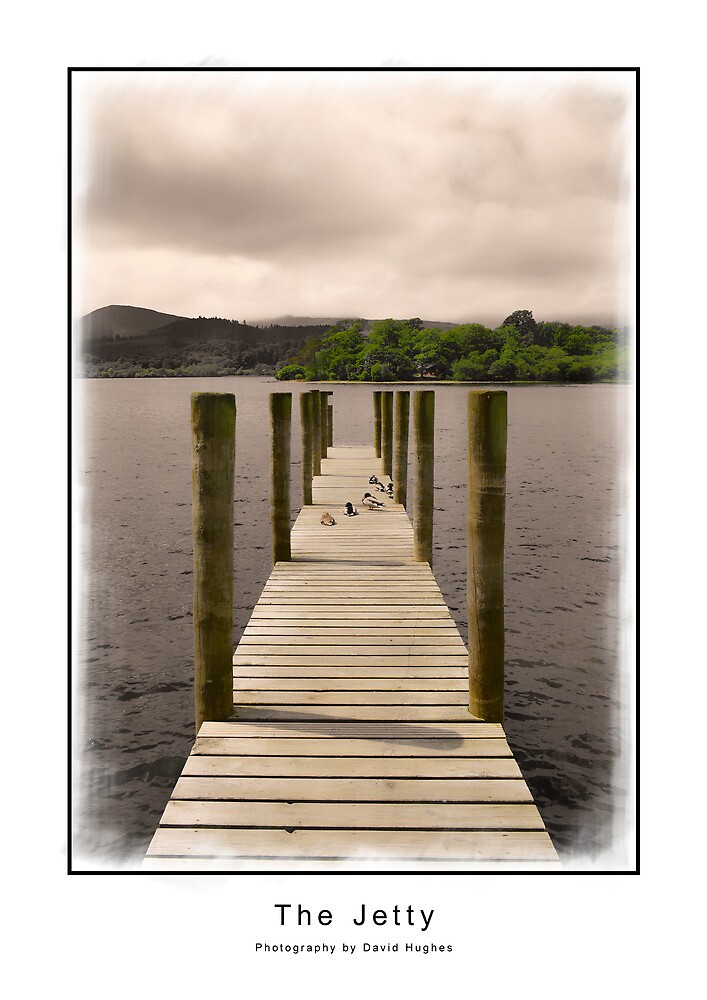 The Jetty by DavidWHughes