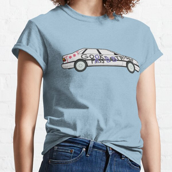 Alan's Rover 800 Dorbed with rude markings (censored) Alan Partridge Digital Drawing  Classic T-Shirt
