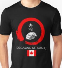 Dreaming of Sushi - Canada Unisex T-Shirt