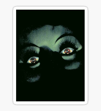 Eyes in the Night Sticker