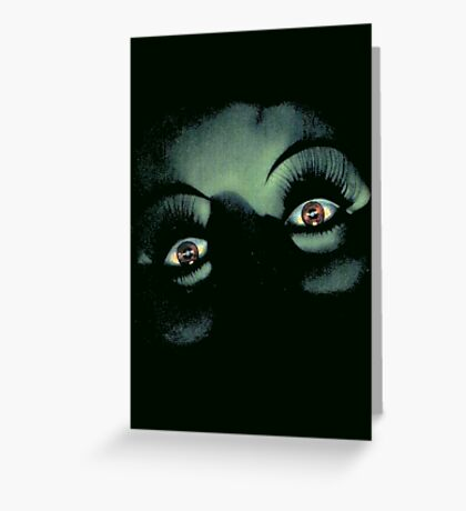 Eyes in the Night Greeting Card